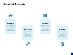 Evaluation Criteria Of New Product Development Process Detailed Analysis Icons PDF