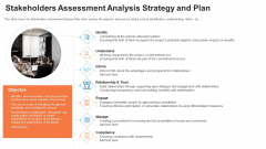 Evaluation Mapping Stakeholders Assessment Analysis Strategy And Plan Structure PDF