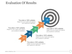Evaluation Of Results Ppt PowerPoint Presentation Graphics