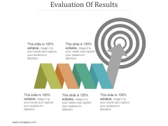 Evaluation Of Results Ppt PowerPoint Presentation Information