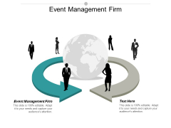 Event Management Firm Ppt PowerPoint Presentation Infographic Template Ideas Cpb