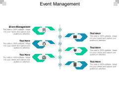 Event Management Ppt PowerPoint Presentation Styles Graphics Cpb