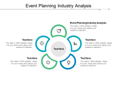 Event Planning Industry Analysis Ppt PowerPoint Presentation Model Graphics Download Cpb