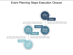 Event Planning Steps Execution Closure Ppt PowerPoint Presentation Outline Slides