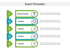 Event Promotion Ppt PowerPoint Presentation Ideas Visual Aids Cpb