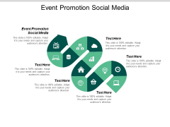 Event Promotion Social Media Ppt PowerPoint Presentation Diagram Templates Cpb
