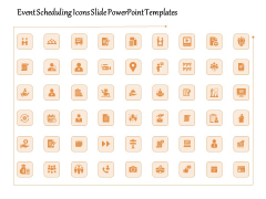 Event Scheduling Icons Slide PowerPoint Templates Ppt PowerPoint Presentation File Outfit PDF