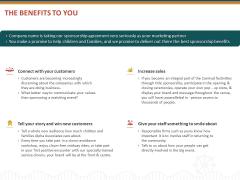 Event Sponsorship The Benefits To You Ppt Outline Slides PDF