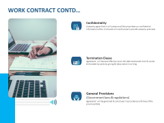 Event Time Announcer Work Contract Contd Ppt Infographic Template Designs Download PDF