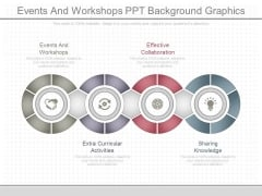 Events And Workshops Ppt Background Graphics