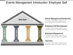 Events Management Introduction Employee Self Development Employee Engagement Ppt PowerPoint Presentation Model Images
