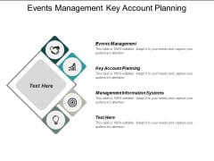 Events Management Key Account Planning Management Information Systems Ppt PowerPoint Presentation Styles Guidelines