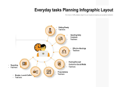 Everyday Tasks Planning Infographic Layout Ppt PowerPoint Presentation Show Mockup PDF