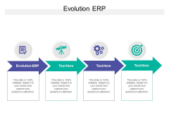 Evolution ERP Ppt PowerPoint Presentation Styles Backgrounds Cpb