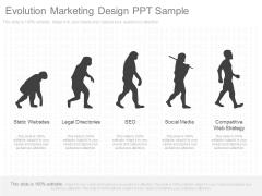 Evolution Marketing Design Ppt Sample