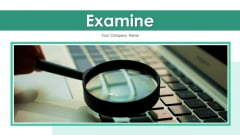 Examine Financial Monitor Ppt PowerPoint Presentation Complete Deck With Slides