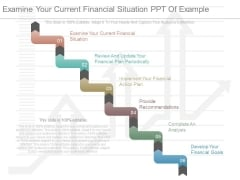 Examine Your Current Financial Situation Ppt Of Example