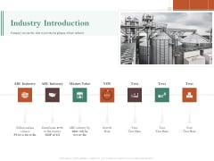 Examining The Industry Environment Of Company Industry Introduction Ppt Ideas Slides PDF