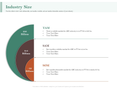 Examining The Industry Environment Of Company Industry Size Ppt Visual Aids Professional PDF