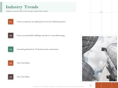 Examining The Industry Environment Of Company Industry Trends Ppt File Design Ideas PDF