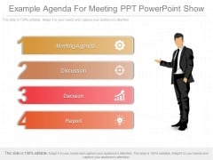 Example Agenda For Meeting Ppt Powerpoint Show