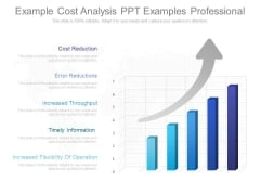 Example Cost Analysis Ppt Examples Professional