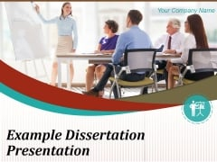 Example Dissertation Presentation Ppt PowerPoint Presentation Complete Deck With Slides