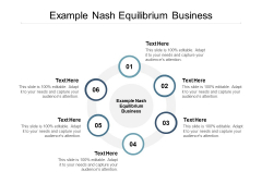 Example Nash Equilibrium Business Ppt PowerPoint Presentation Portfolio Introduction
