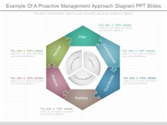 Example Of A Proactive Management Approach Diagram Ppt Slides