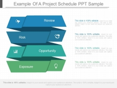 Example Of A Project Schedule Ppt Sample