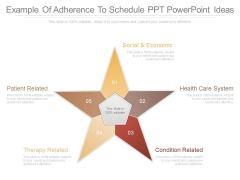 Example Of Adherence To Schedule Ppt Powerpoint Ideas