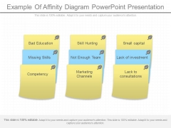 Example Of Affinity Diagram Powerpoint Presentation