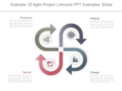 Example Of Agile Project Lifecycle Ppt Examples Slides