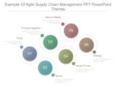 Example Of Agile Supply Chain Management Ppt Powerpoint Themes