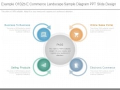 Example Of B2b E Commerce Landscape Sample Diagram Ppt Slide Design
