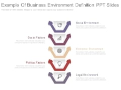 Example Of Business Environment Definition Ppt Slides