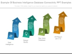 Example Of Business Intelligence Database Connectivity Ppt Examples