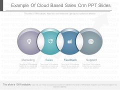 Example Of Cloud Based Sales Crm Ppt Slides