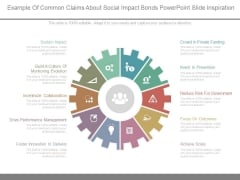 Example Of Common Claims About Social Impact Bonds Powerpoint Slide Inspiration