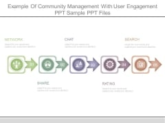 Example Of Community Management With User Engagement Ppt Sample Ppt Files