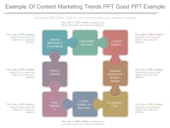 Example Of Content Marketing Trends Ppt Good Ppt Example
