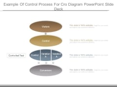 Example Of Control Process For Cro Diagram Powerpoint Slide Deck