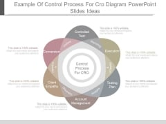 Example Of Control Process For Cro Diagram Powerpoint Slides Ideas
