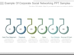 Example Of Corporate Social Networking Ppt Samples
