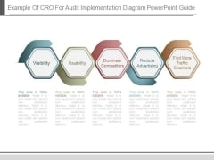 Example Of Cro For Audit Implementation Diagram Powerpoint Guide