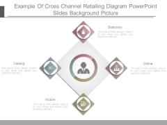 Example Of Cross Channel Retailing Diagram Powerpoint Slides Background Picture