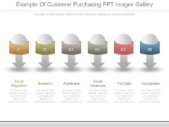 Example Of Customer Purchasing Ppt Images Gallery