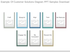 Example Of Customer Solutions Diagram Ppt Samples Download