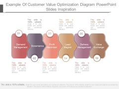 Example Of Customer Value Optimization Diagram Powerpoint Slides Inspiration
