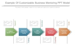 Example Of Customizable Business Mentoring Ppt Model